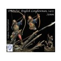 """English Longbowman in Battle of Azincourt, 1415"""