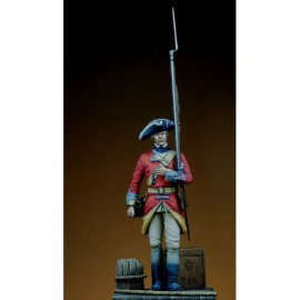 Private, 29th Regiment of Foot. American Independence War. Boston 1768-1771