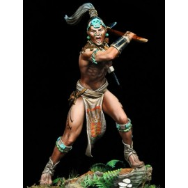 Maya Warrior, 16th Century